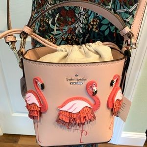 Kate spade flamingo pippa by the pool warm vellum